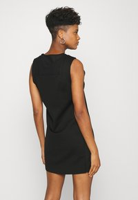 Diesel - PLEADY DRESS - Vestido informal - black - 2