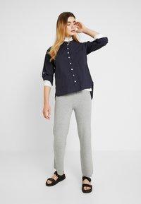 esmé studios - EMILIE - Button-down blouse - dark blue - 1