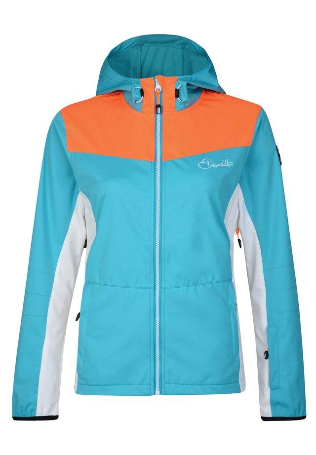 Snowboard jacket - aqua/vibrorn