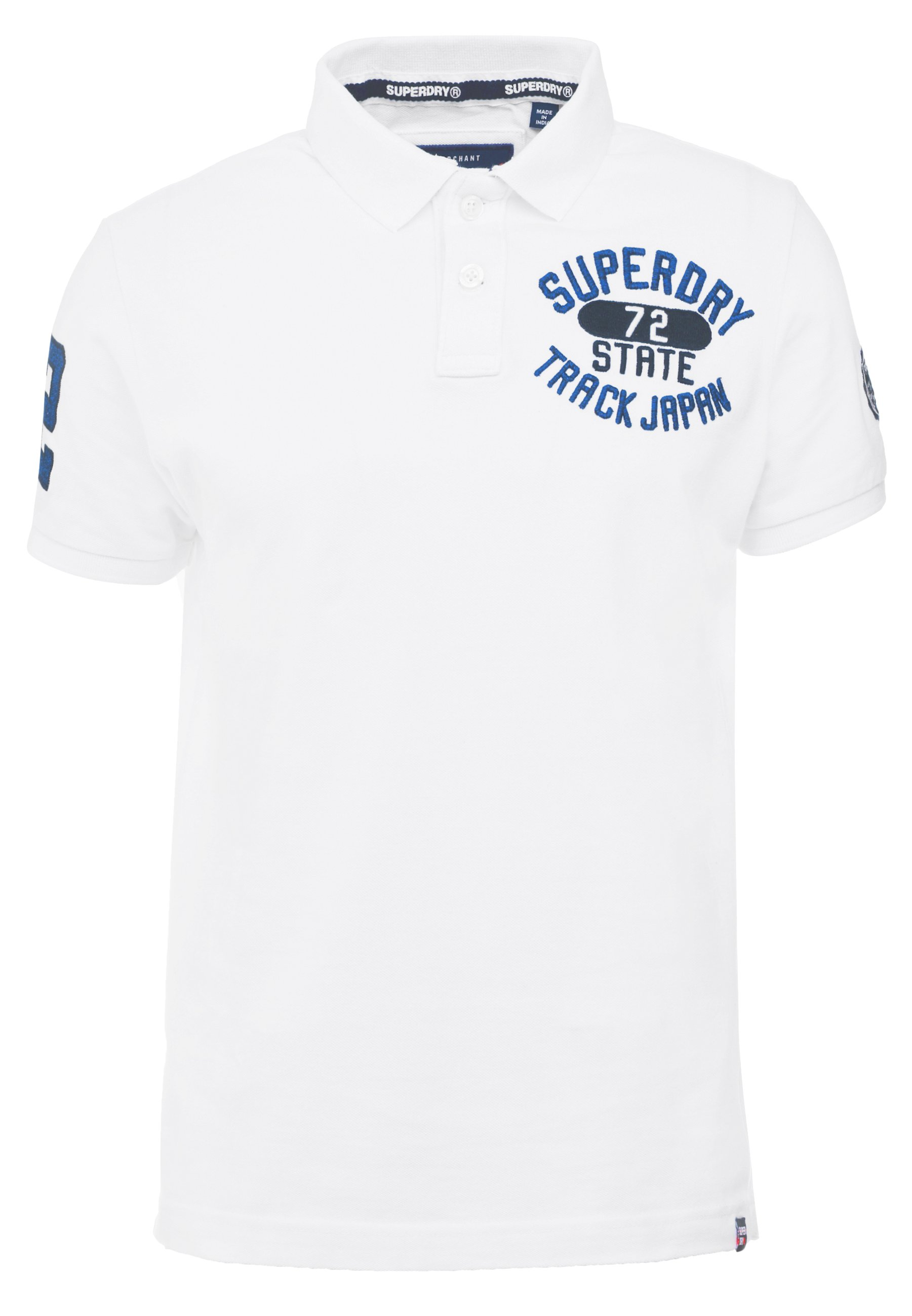 Superdry CLASSIC SUPERSTATE Poloshirts black Zalando.dk
