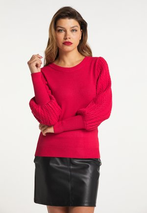 Sweter - rot