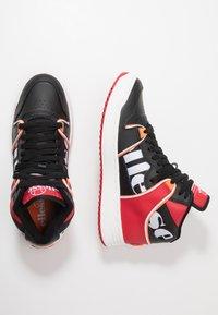 Ellesse - ASSIST - Baskets montantes - black/red/orange - 1