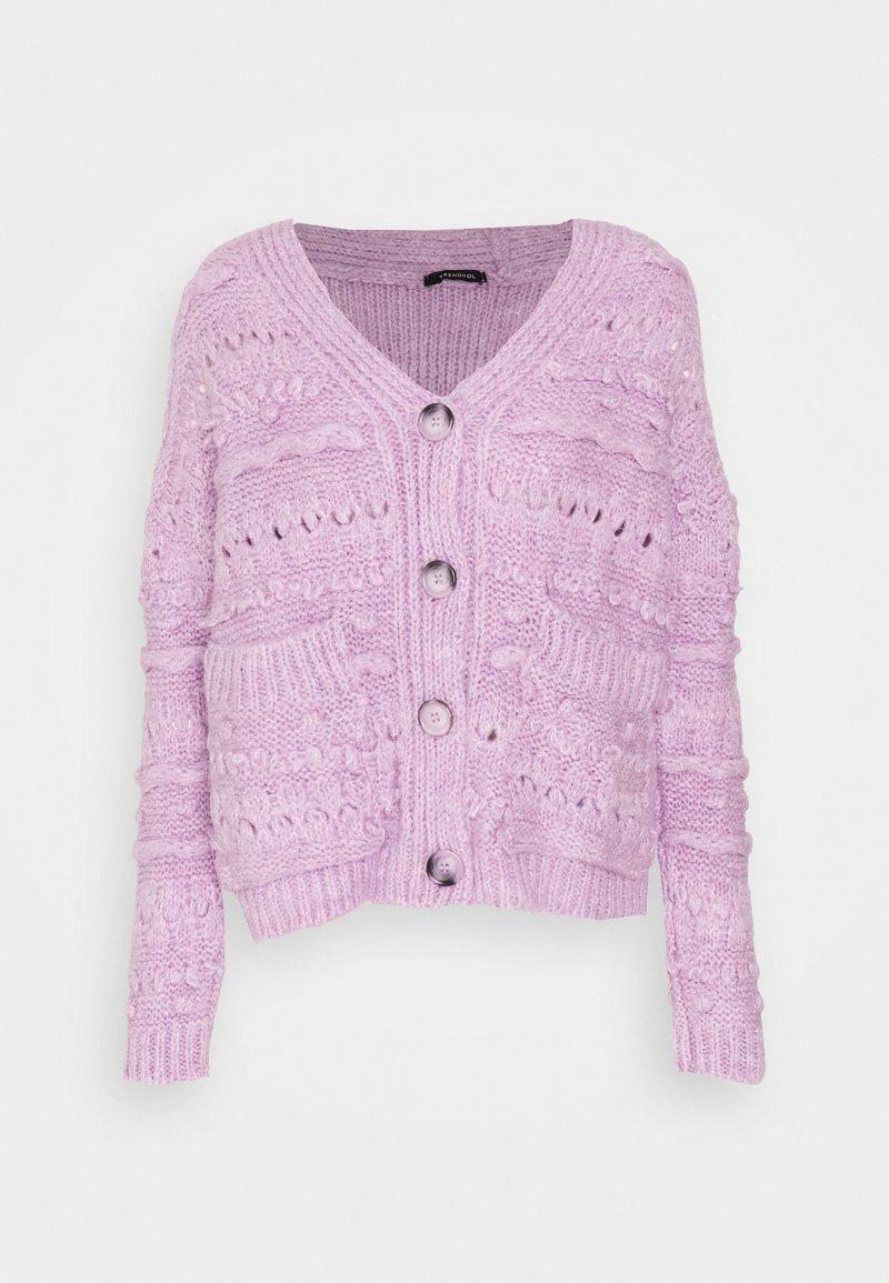 Trendyol - Cardigan - lilac