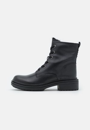SAORY - Botas para la nieve - black