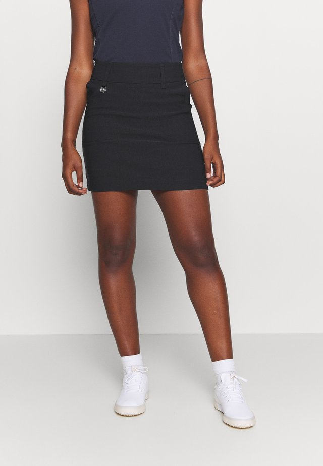 MAGIC SKORT - Rokken - black
