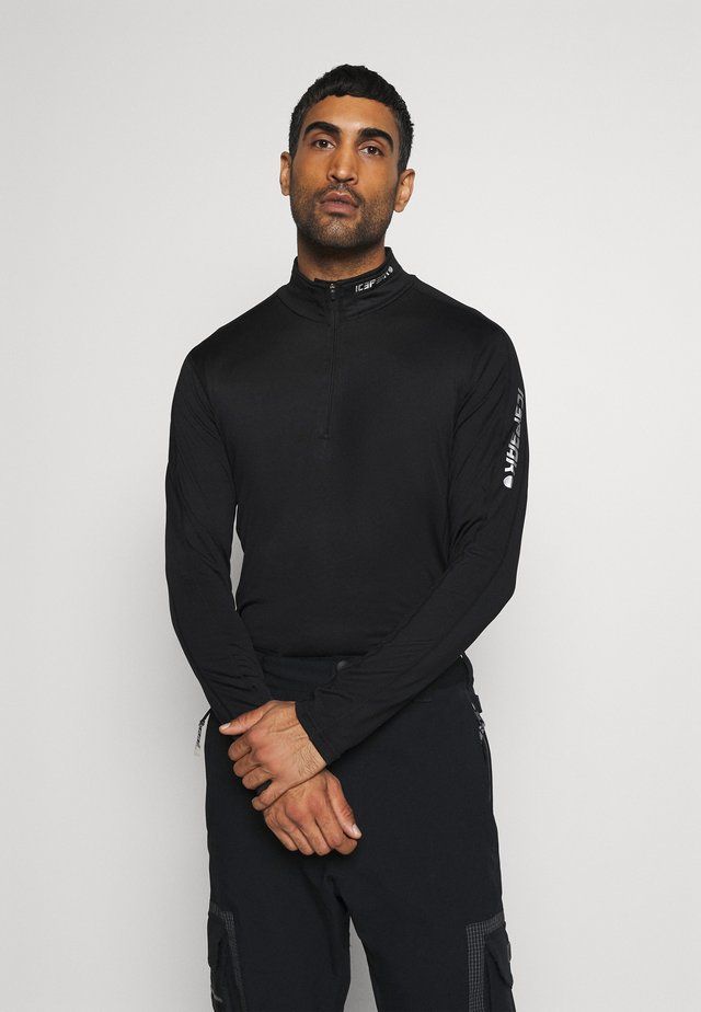 FLEMINTON - Fleece jumper - black