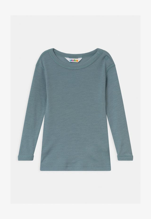 LONG SLEEVES UNISEX - Long sleeved top - denim blue