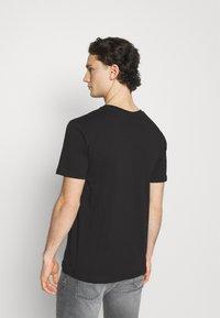 274 - PALM BLOCK TEE - Print T-shirt - black - 2