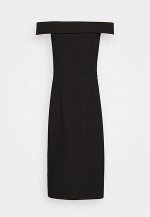 CARMEN DRESS - Vestido de tubo - black
