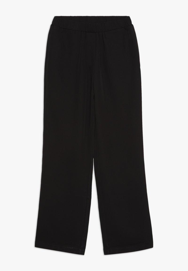 Grunt - LOPEZ PANT - Tygbyxor - black