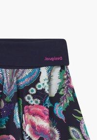 Desigual - MONTGOMERY - A-line skirt - blue - 3