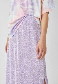 PULL&BEAR - A-snit nederdel/ A-formede nederdele - purple - 3