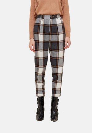 Trousers - grigio