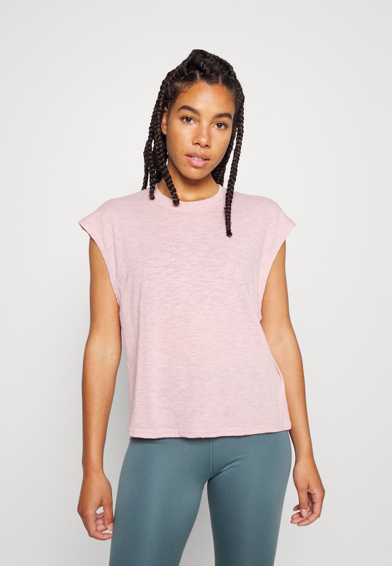 Cotton On Body - LIFESTYLE SLOUCHY MUSCLE - T-shirt basic - almond pink
