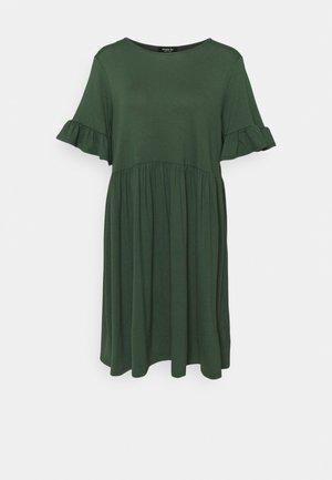 FRILL SLEEVE SMOCK DRESS - Jersey dress - khaki