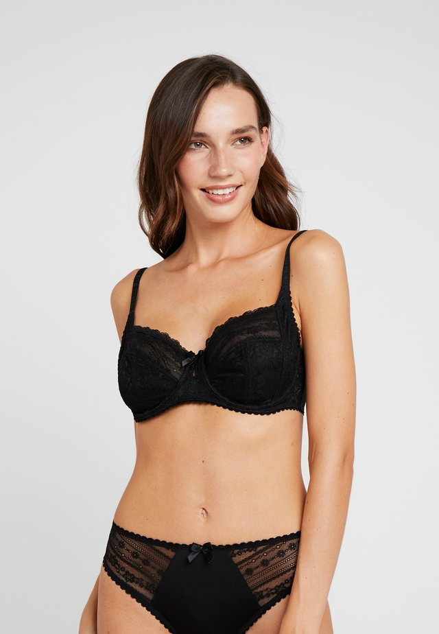 REMIX SIDE SUPPORT UNDERWIRED BRA - Beugel BH - black
