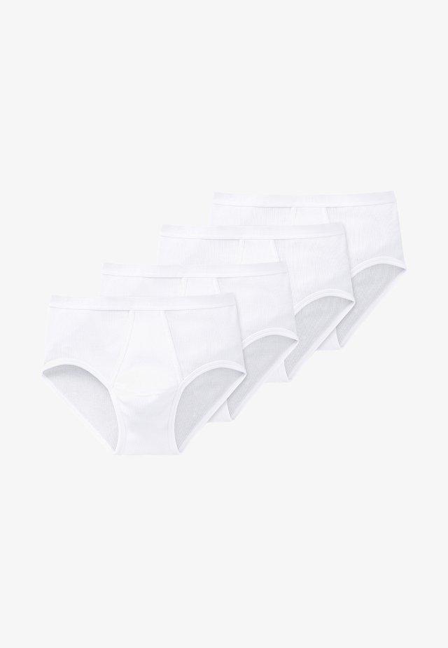 4 PACK - Slip - weiß