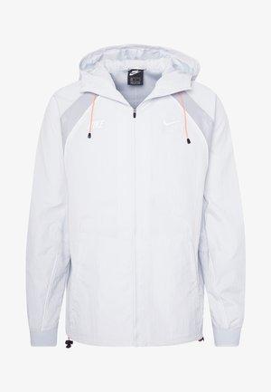 Summer jacket - pure platinum/light smoke grey