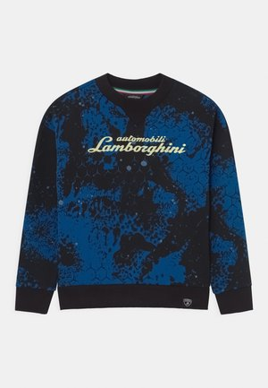 CREW NECK ARTISTIC - Sweatshirt - blue