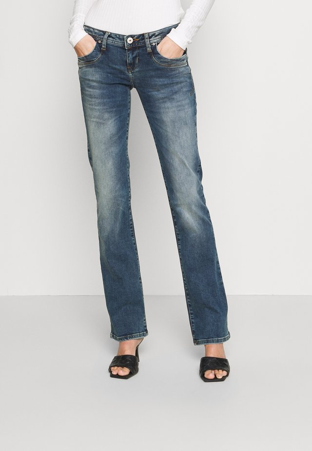 VALERIE - Jeans bootcut - karlia wash