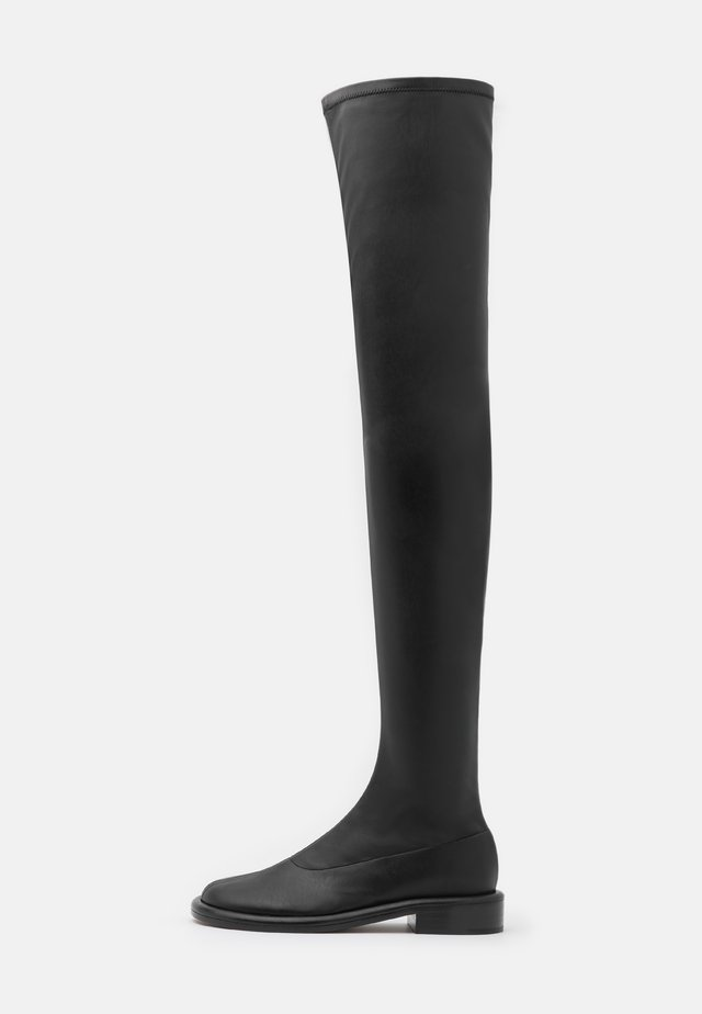 BOYD STRETCH BOOT - Overknee laarzen - black