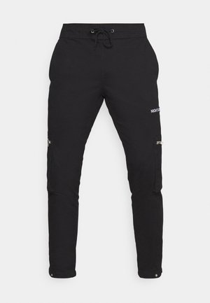 NAASTRID - Cargo trousers - black