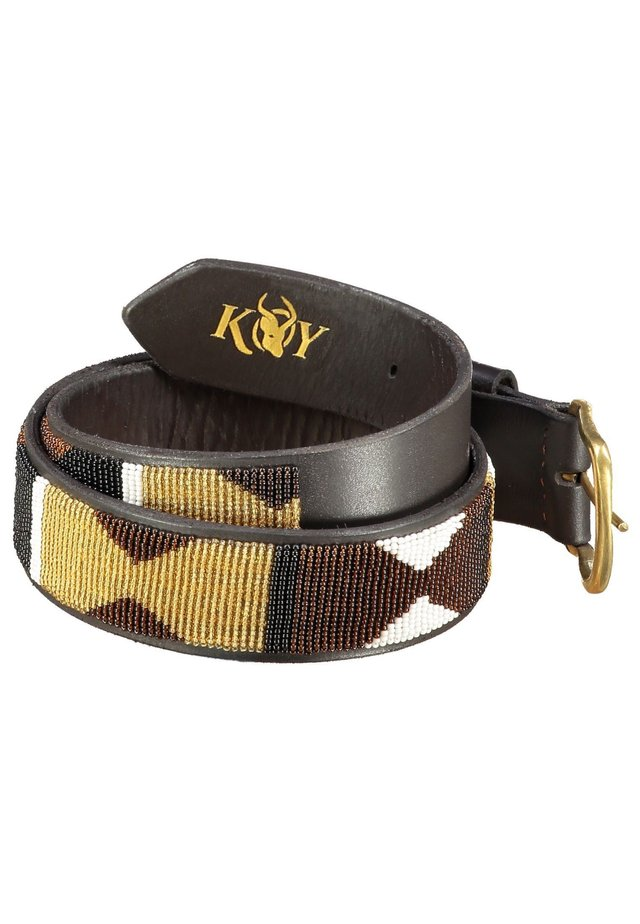 DUNIA  (WIDE) - Belt - brown/gold