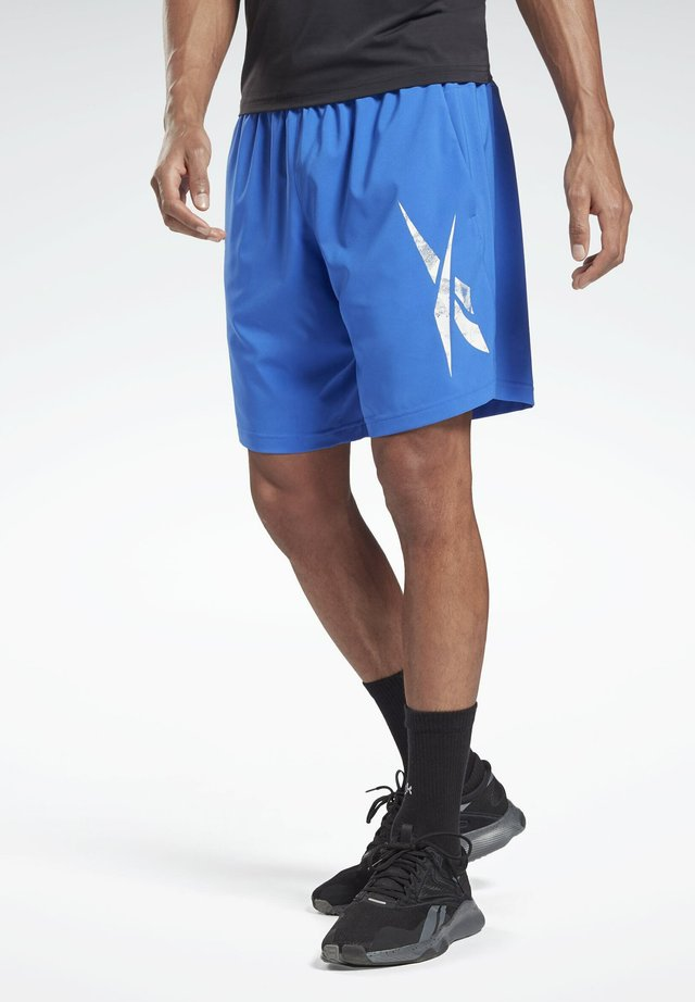 WORKOUT READY GRAPHIC SHORTS - Sports shorts - blue