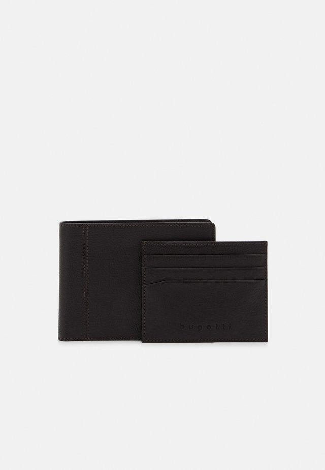WALLET CARD HOLDER SET - Lommebok - brown