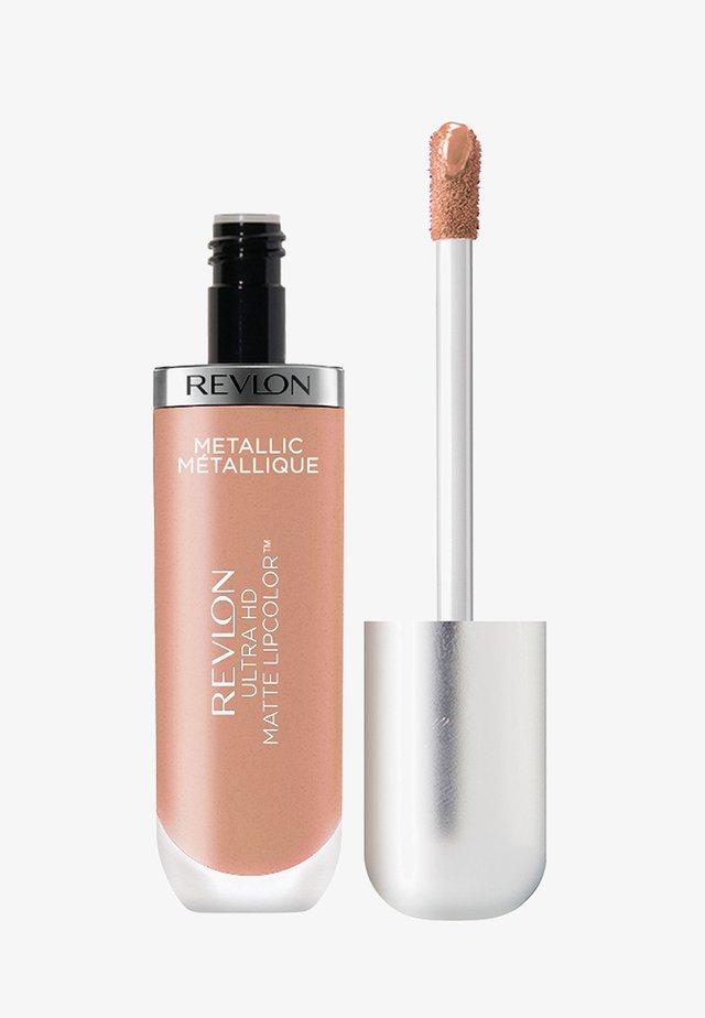 ULTRA HD METALLIC MATTE LIPCOLOR - Liquid lipstick - N°715 hd glow