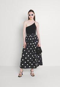 EDITED - JARINE SKIRT - Maxi skirt - bold dot - 1