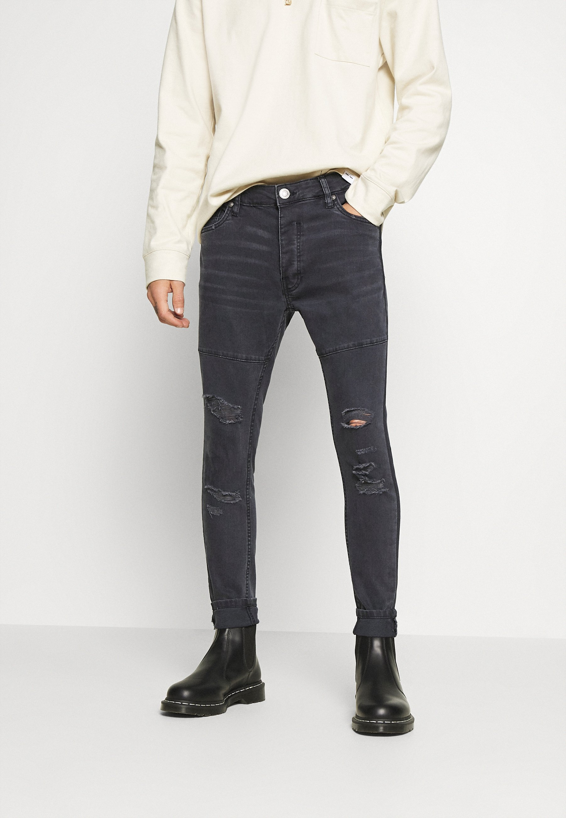 Men SHEERANCHAR - Jeans Skinny Fit