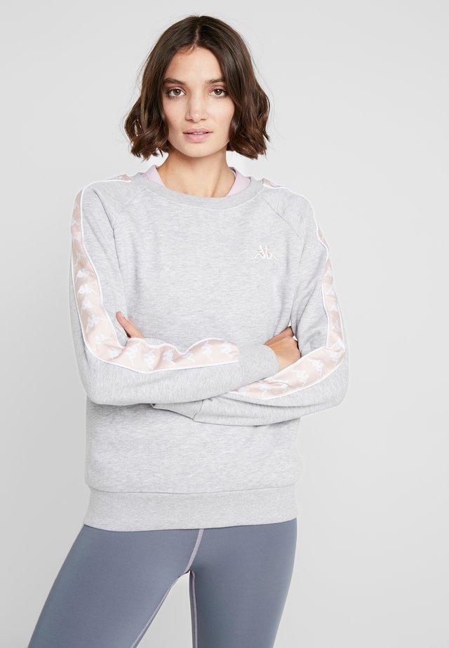 FELICIENNE - Sweatshirt - mottled grey