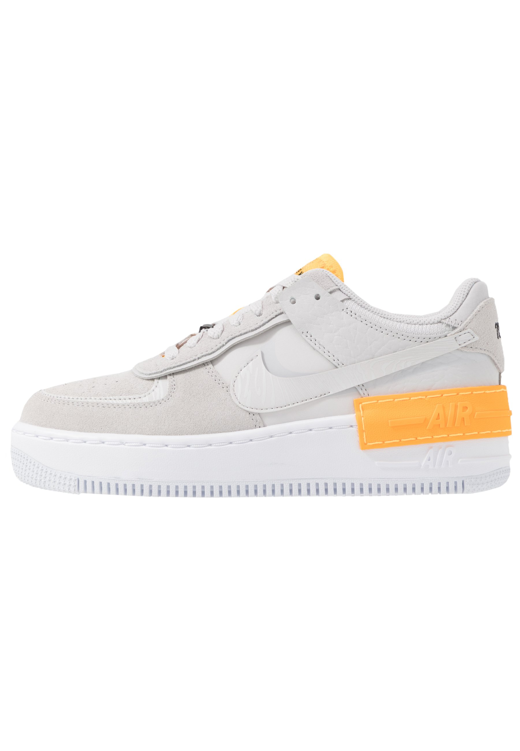 air force 1 basse oro e bianco