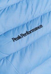 Peak Performance - FROST HOOD JACKET - Untuvatakki - blue elevation - 2