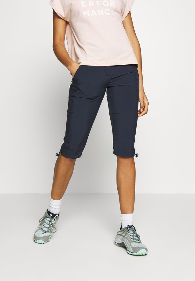 CAPRI LIGHT - 3/4 sports trousers - navy