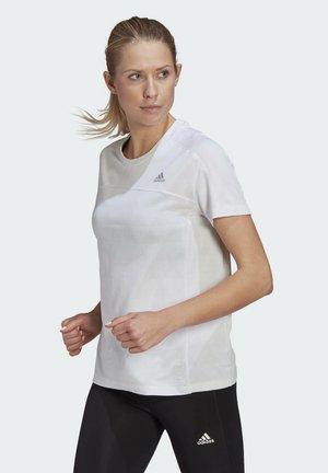 HEAT.RDY RUNNING T-SHIRT - T-shirts med print - white
