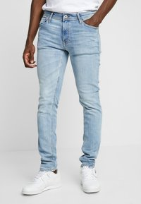 Jack & Jones - JJILIAM JJORIGINAL - Vaqueros pitillo - blue denim - 0