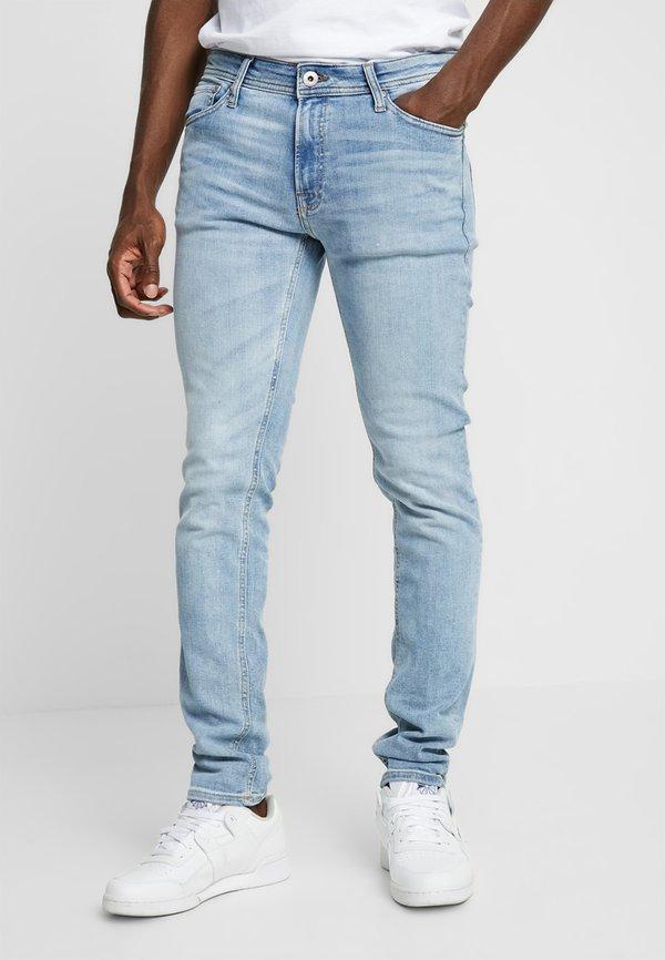Jack & Jones JJILIAM JJORIGINAL - Jeansy Skinny Fit - blue denim/niebieski denim Odzież Męska YXFE