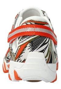 Allrounder - NIRO - Ankle strap ballet pumps - orange - 1