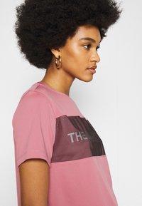 The North Face - Camiseta estampada - mesa rose - 3