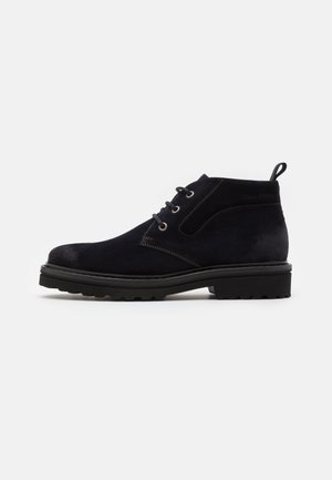 Casual lace-ups - navy