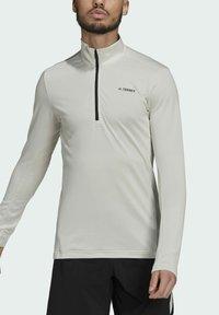 adidas Performance - Fleece jumper - grey - 3