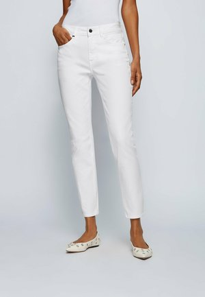 Slim fit jeans - natural