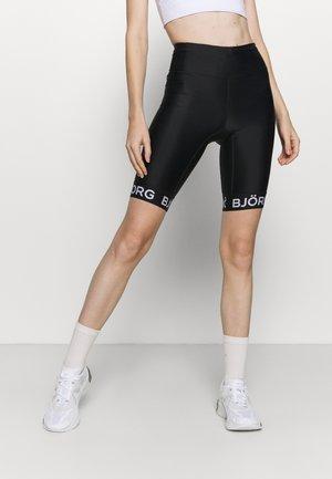 CASSANDRA BIKE - Leggings - black beauty