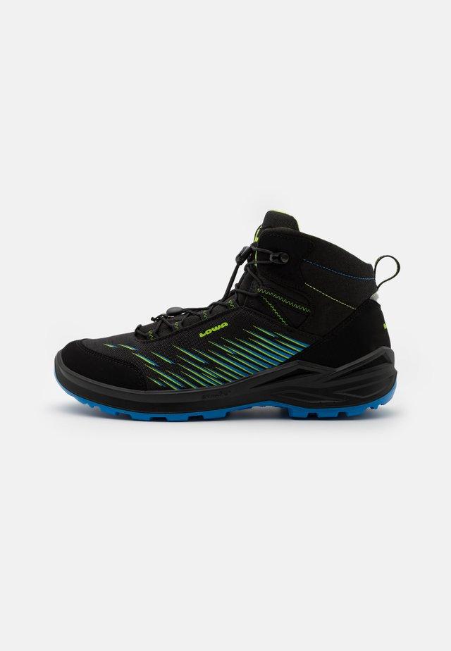 ZIRROX GTX MID JUNIOR UNISEX - Chaussures de marche - schwarz/limone