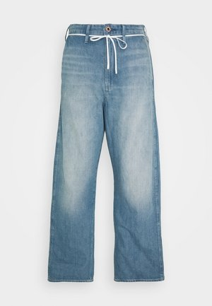 LINTELL HIGH DAD  - Jeans baggy - antic faded marine blue
