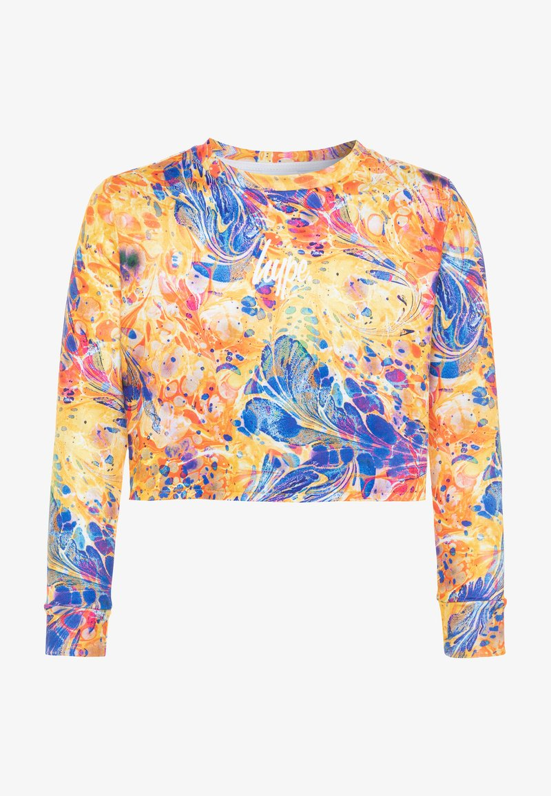Hype - GIRLS CROP - Mikina - multicolor