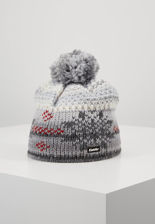 IKE POMPON - Mütze - milkgrau