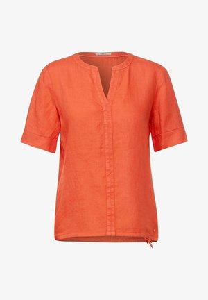 IN UNIFARBE - Blouse - orange